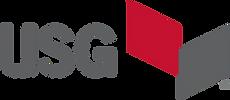 USG logo with double rhombus image
