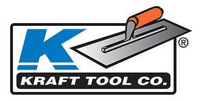 Kraft Tool Company logo with trowel
