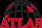 Atlas logo with globe symbol