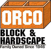 """Orco Block and Hardscape logo with text that reads """"Family owned since 1946"""""""