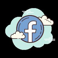stylised facebook icon