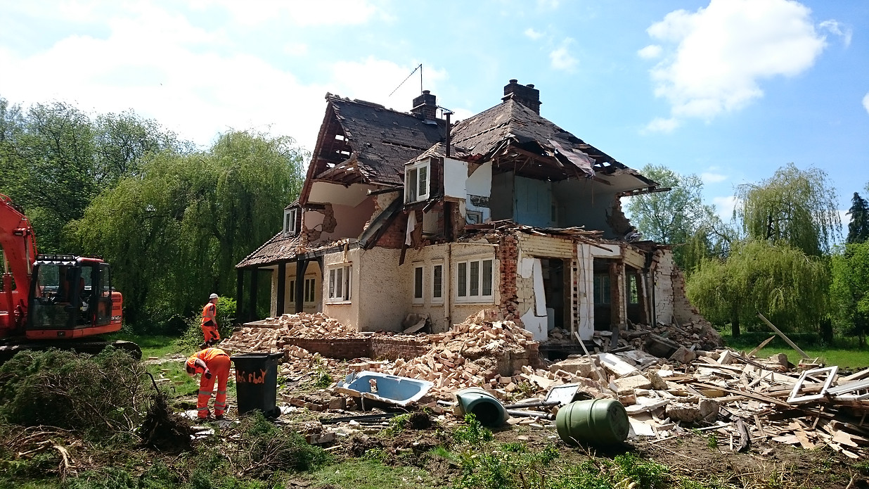 Project 1 - House demolition image 4