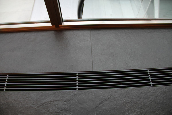 Aluminum grille without frame from Kungsprofiler