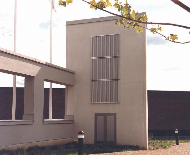 Aluminiumsrister for fasade YGU fra Kungsprofiler