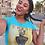 Thumbnail: Queen CHIDI Signature V-neck Tee