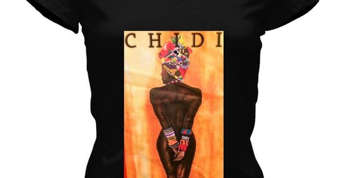 Queen CHIDI Signature V-neck Tee