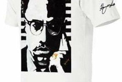 """HAS """"Malcolm X"""" Graphic King Tee 