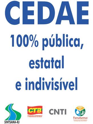 TCE vê 'pontos sensíveis' no edital de concessão dos serviços prestados pela Cedae
