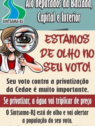Alô deputados da Baixada Fluminense, Capital e Interior