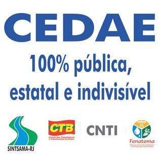 Mídia tendenciosa quer a privatização da Cedae a qualquer custo