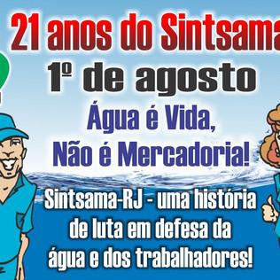 21 anos do Sintsama-RJ