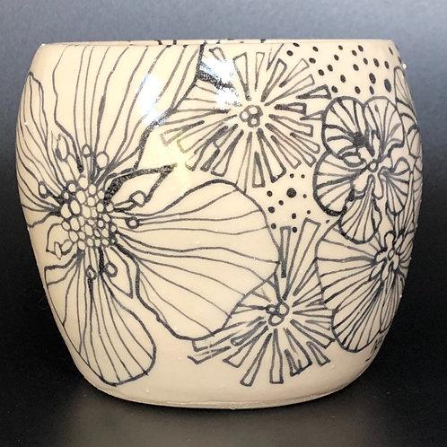 Helleboure and Wild Flower Vase
