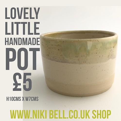 Handmade Lovely Little Pot