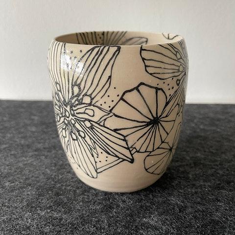 Wildflower Anemone Vase