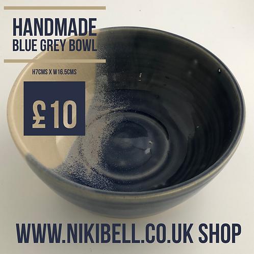 Handmade Blue Grey Bowl