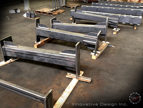 Parts for customer welded by Innovative Design, Inc.