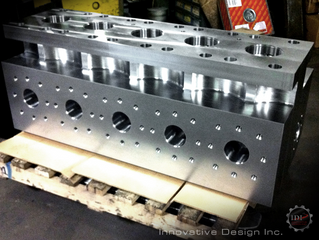 Parts for customer machined by Innovative Design, Inc.