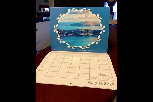2021 US Virgin Island Calendars