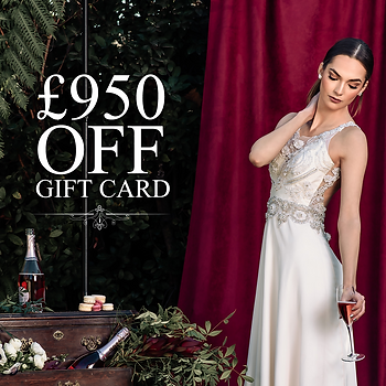£950 discount on any Dress! only for