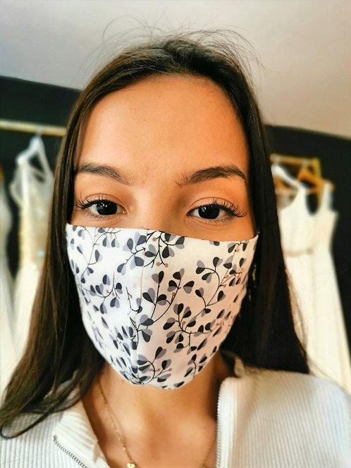 Mascara de satin anti acne hojas