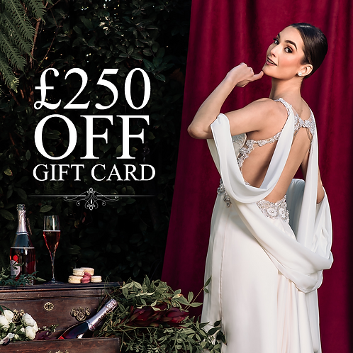 £250 discount on any Dress! only for