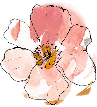 Centre Peach Flower.png