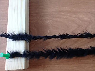 делаем меховую нить. вязание мехом