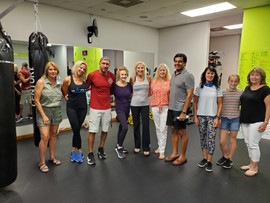 Self Defense CLass provided by Burn Fitness