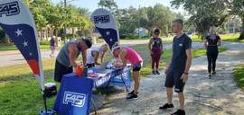 F45 Fitness in the Park