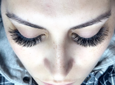 volume eyelash extensions san jose
