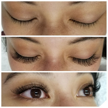 volume lash extensions san jose