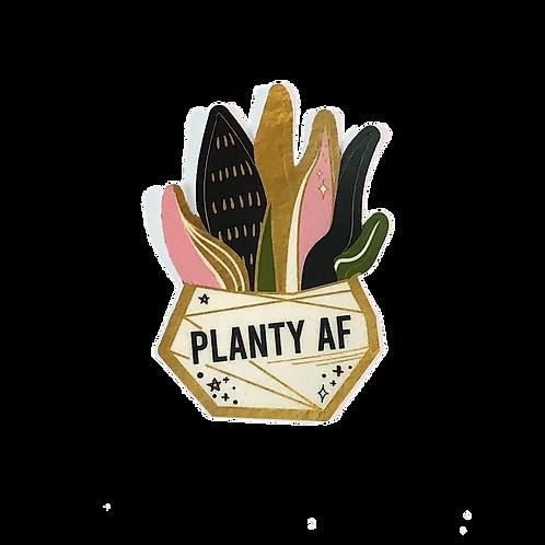 STICKER | PLANTY AF