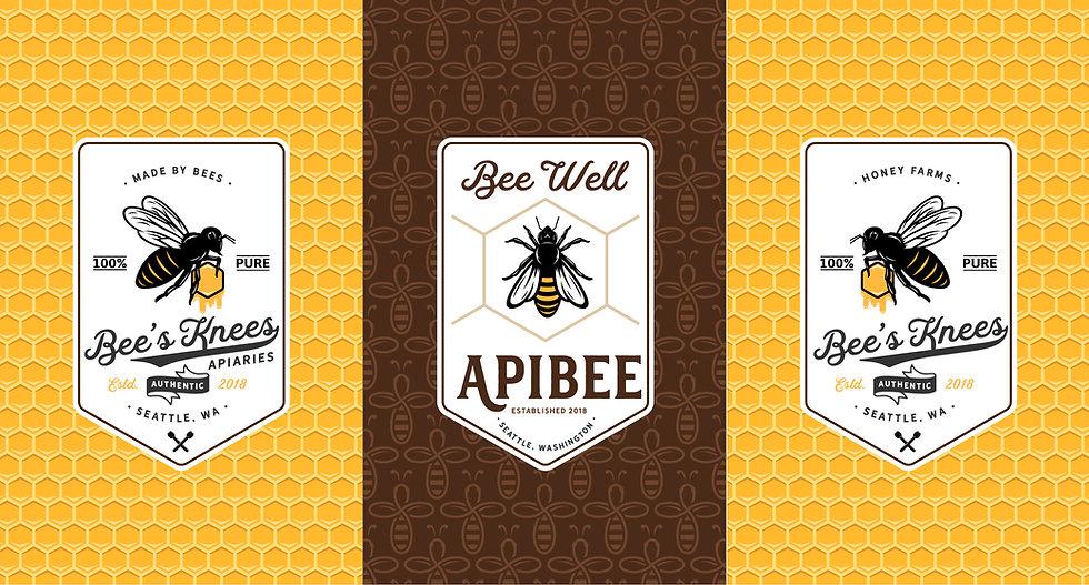 Bee's Knees Apiaries Logos.jpg