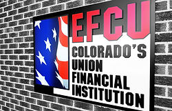 EFCU Logo Sign