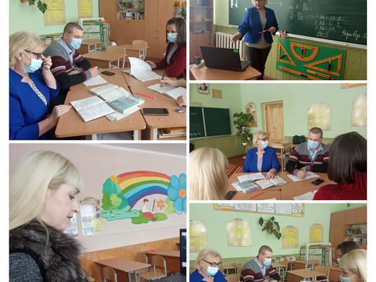 Засідання кафедри вчителів математики