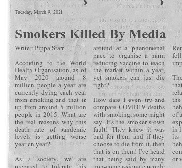 Smokers Killed By Media