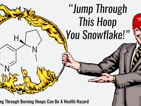 Kids Get Easy Access To Nicotine  While Adults Jump Through Hoops!