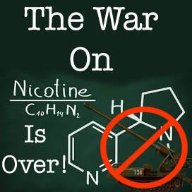 The War On Nicotine Is Over!
