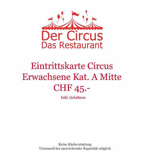 Circusvorstellung Erwachsene Kat.A Mitte