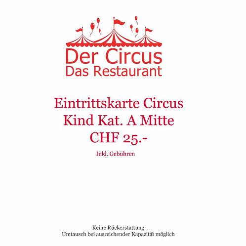 Circusvorstellung Kind Kat.A Mitte