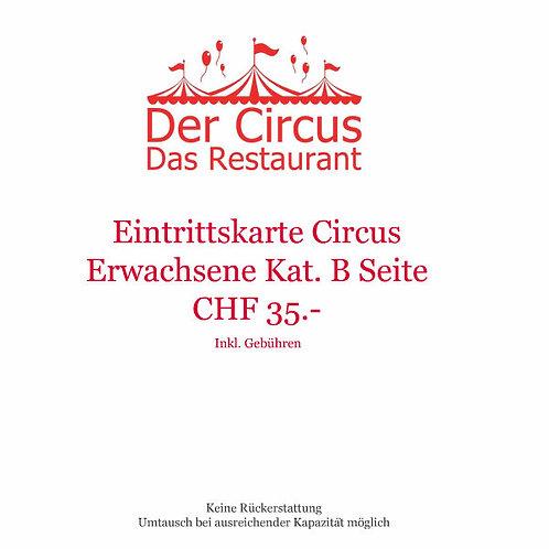 Circusvorstellung Erwachsene Kat.B Seite