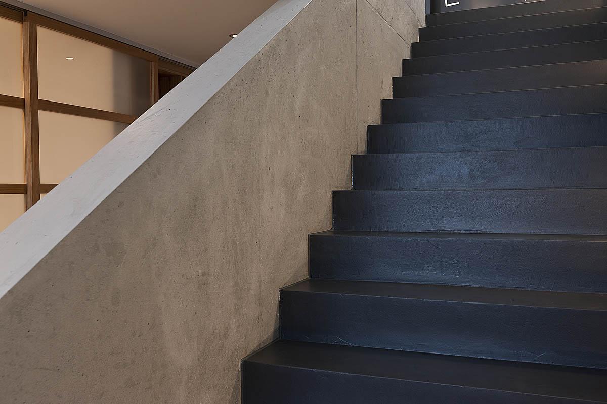Treppe Fugenlos
