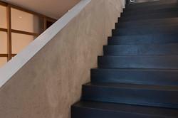 Treppe Fugenlos blau