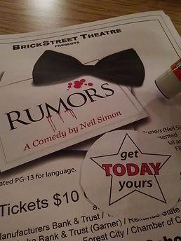 Rumors Poster - Image