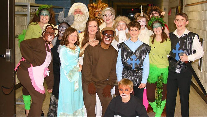 The Lion, the Witch, and the Wardrobe Cast - Image