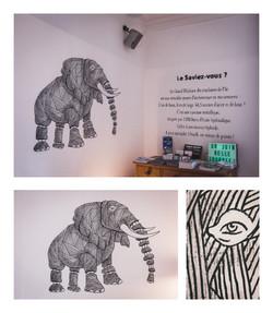 L'éléphant des machines