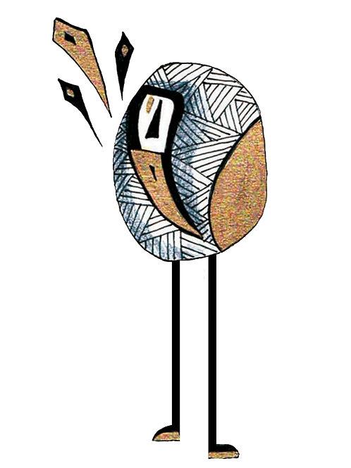 Oiseau longue pattes