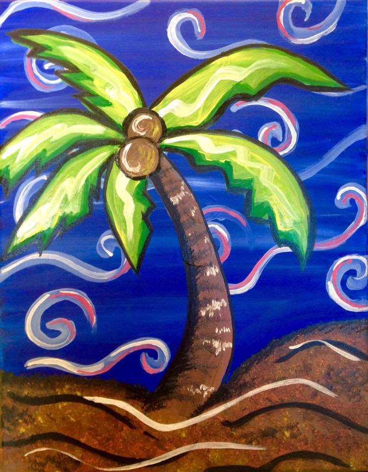 Funky Palm