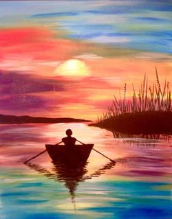 Serene Boatride