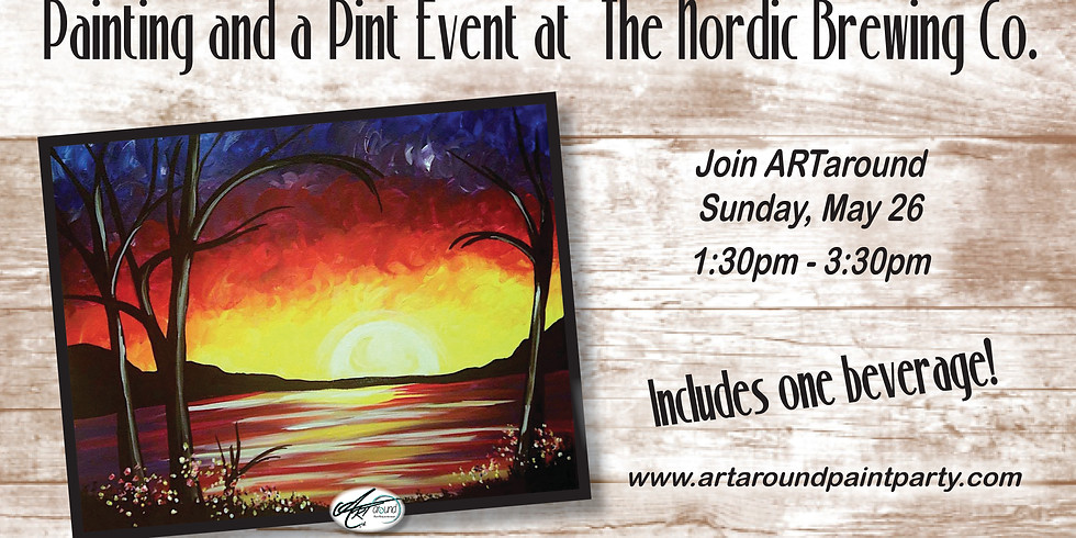 Painting and a Pint at The Nordic Brewing Co.